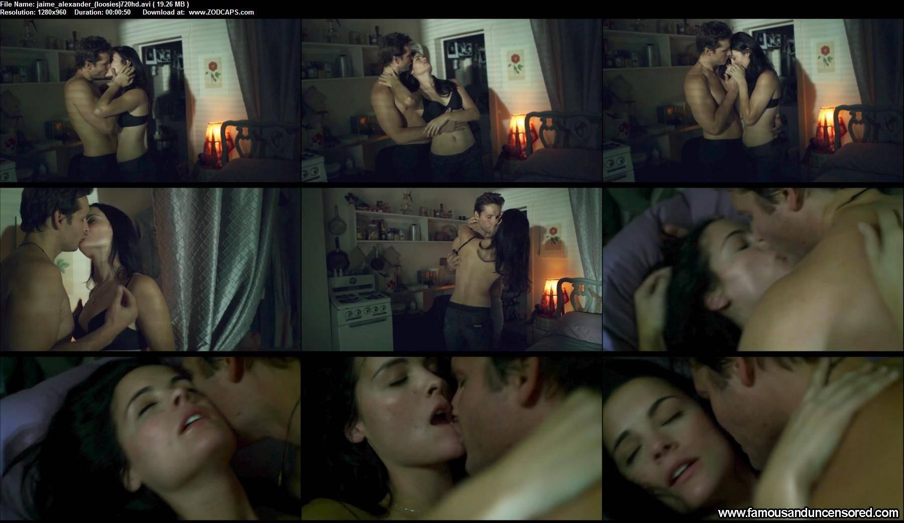 jaimie alexander hot scene