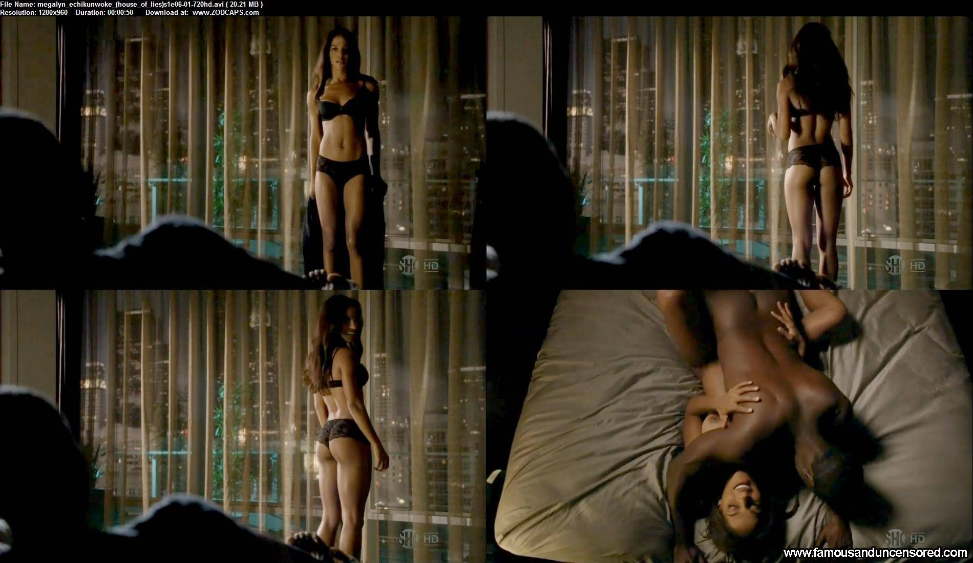 Megalyn Echikunwoke Nude Sey Scene House Of Lies