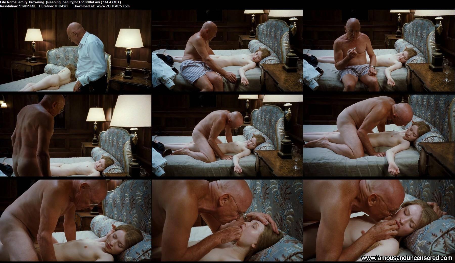 sleeping beauty sex scene