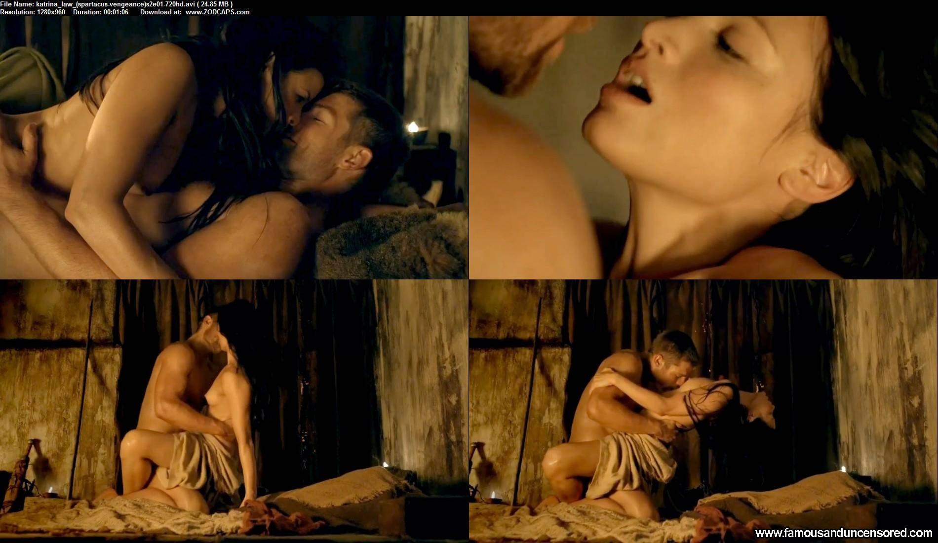 Spartacus vengeance hot scene