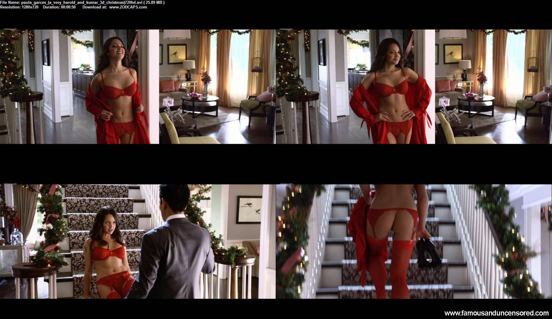 image Paula garces a very harold and kumar 3d christmas