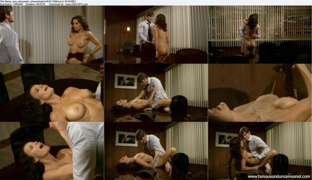 Ana Alexander Chemistry Celebrity Sexy Beautiful Nude Scene