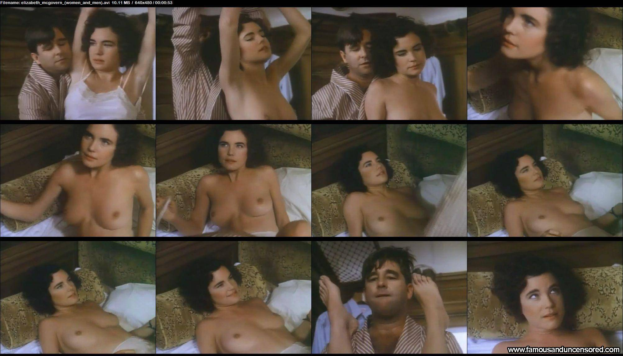 elizabeth mcgovern nude video
