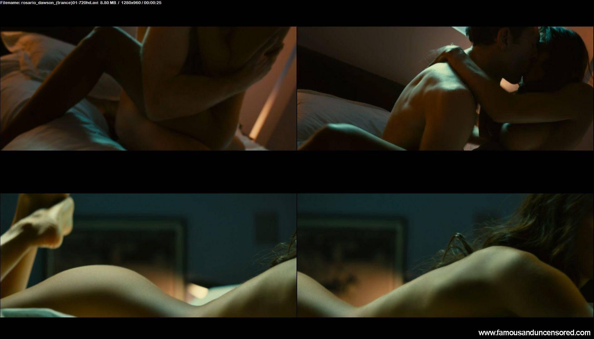 Rosario dawson nude sex scene in trance scandalplanetcom 10