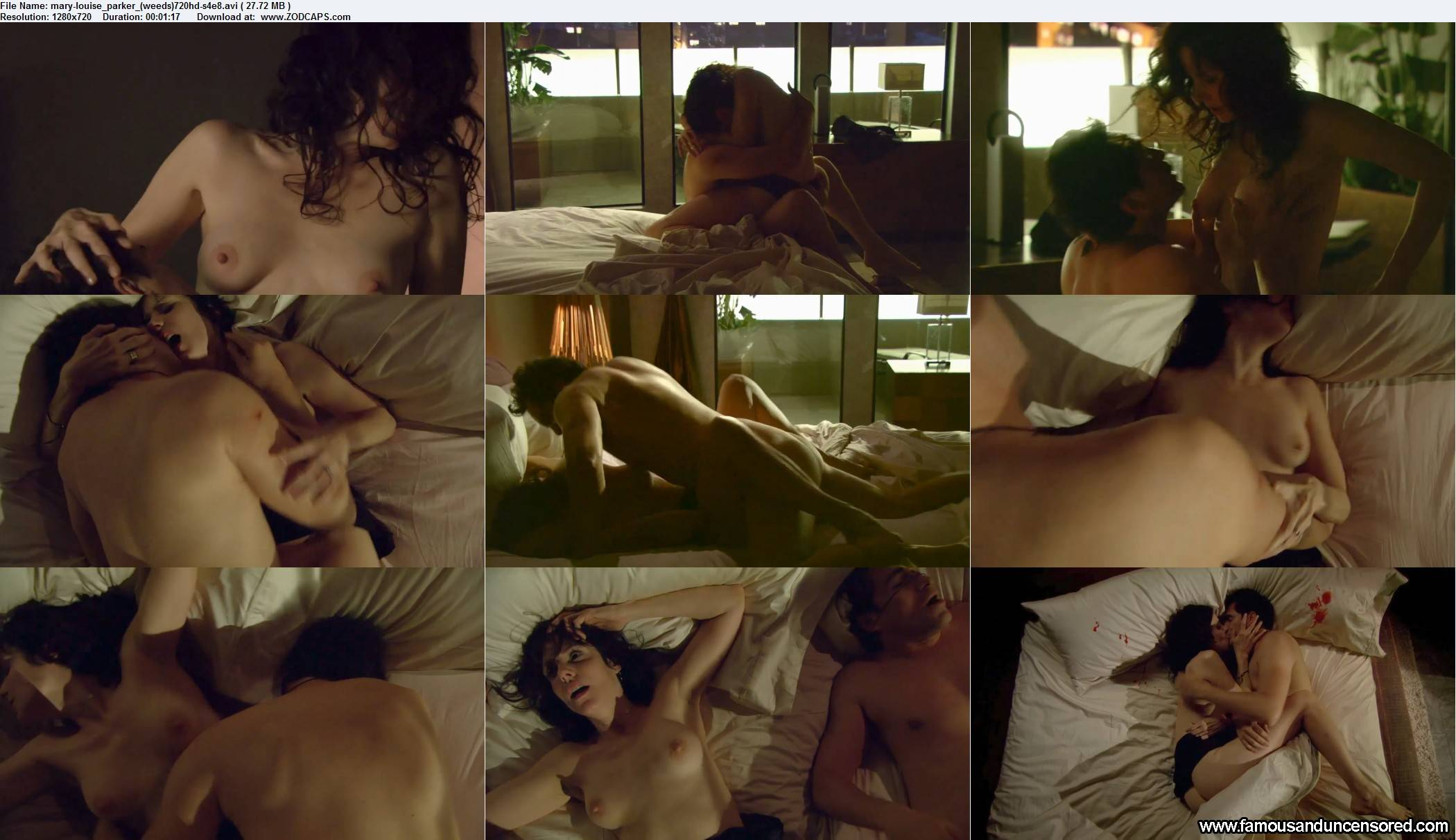 Mary Louis Parker Weed Sex Scene Compilation
