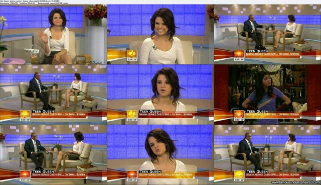 Selena Gomez The Today Show Sexy Nude Scene Celebrity Beautiful
