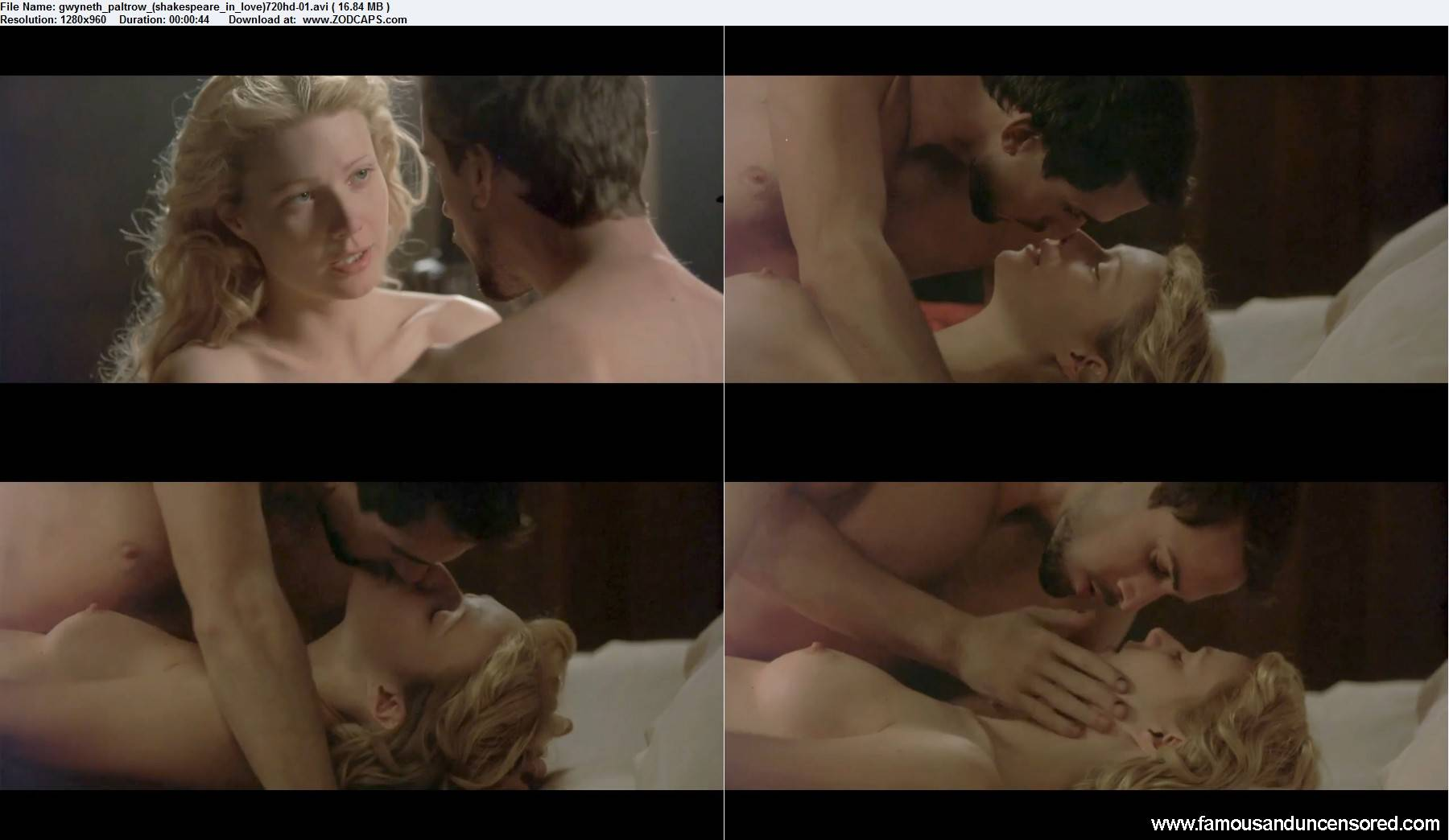picture Gwyneth paltrow nude shakespeare in love