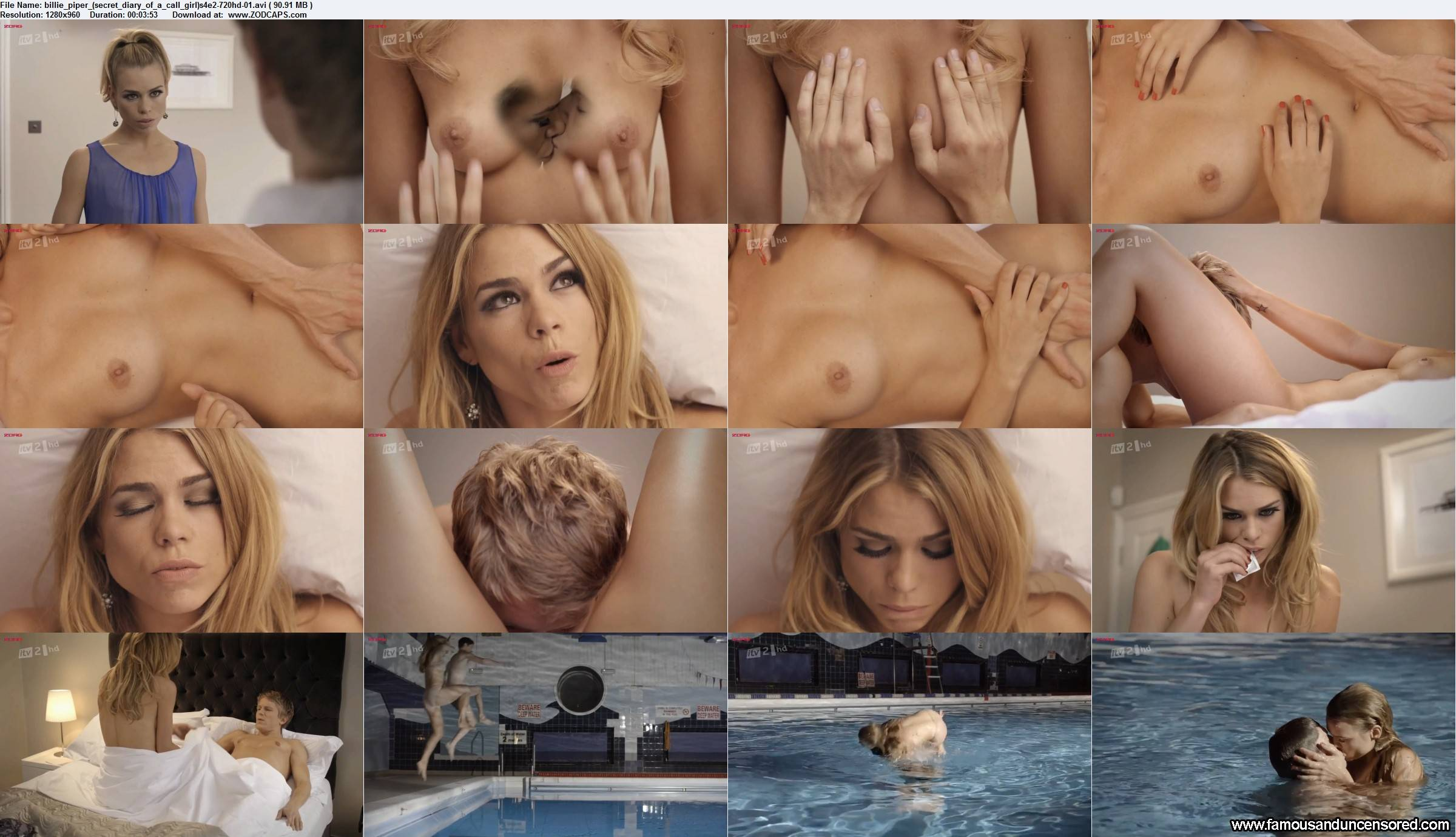Nudes of secret diary of a call girl season 1 billie piper 3