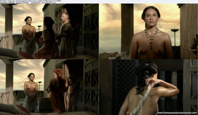 Lesley Spartacus  Blood And Sand Beautiful Sexy Nude Scene Celebrity
