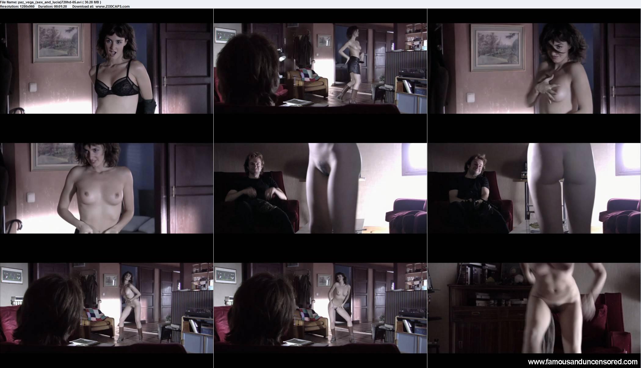 Paz Vega Full Frontal Nude Scenes