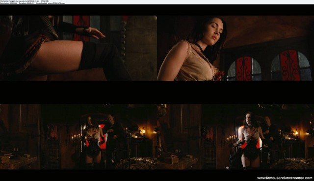 Megan Fox Jonah Hex Sexy Celebrity Beautiful Nude Scene Female
