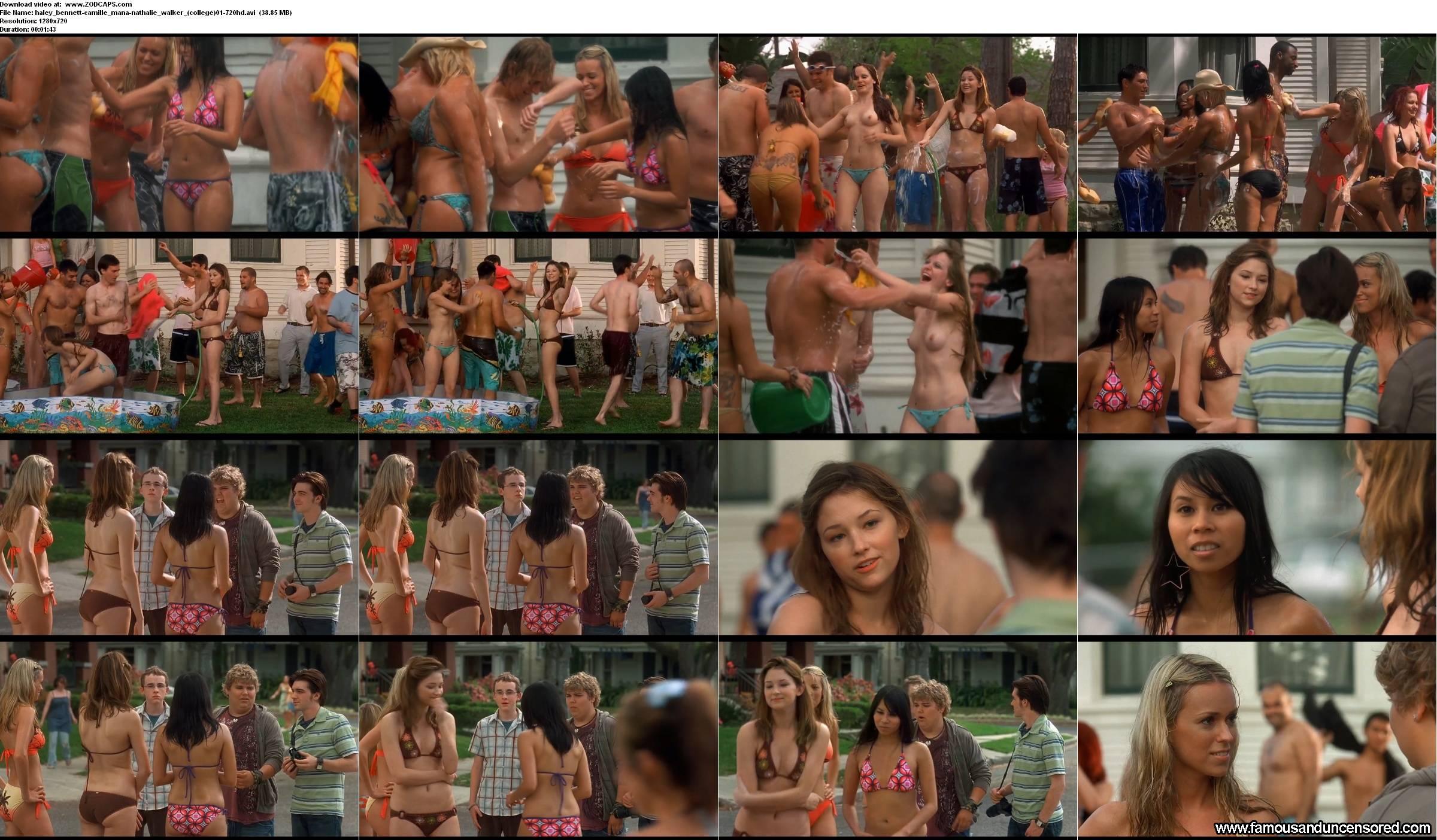 Haley Bent Nude Scene