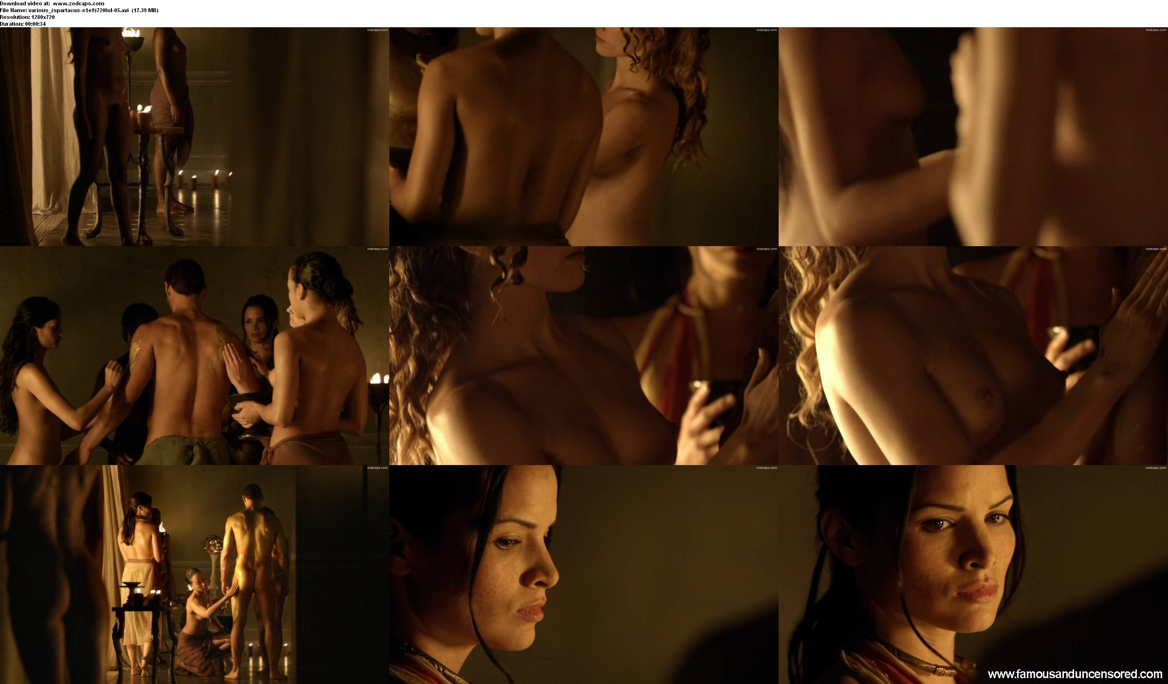 Lucy lawless and jaime murray lesbian sex in spartacus scandalplanetcom
