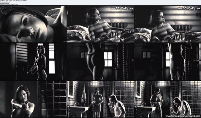 Carla Gugino Sin City Beautiful Nude Scene Sexy Celebrity Babe Famous