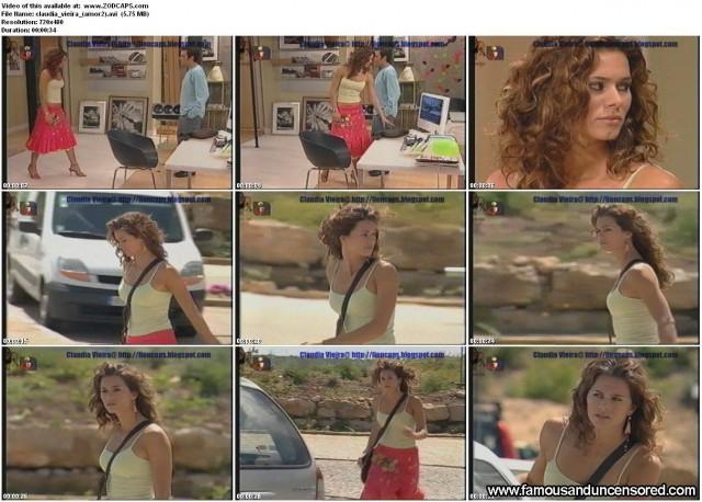 Claudia Vieira Italian Tv Show Nude Scene Celebrity Beautiful Sexy