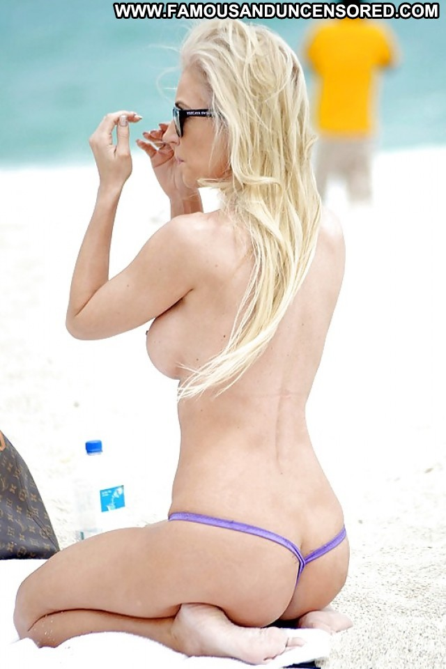 Ana B Pictures Beach Boobs Topless Celebrity